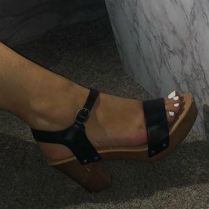 Cork heels 💓 never worn before